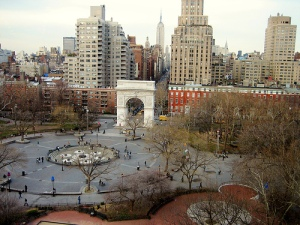 washington sq park as it 'was'