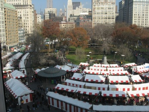 "Union Square ""Holiday Market"""