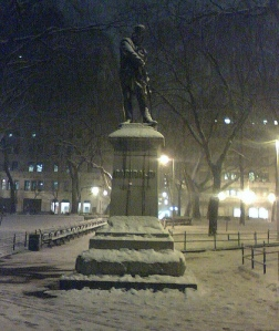 Garibaldi in the Snow