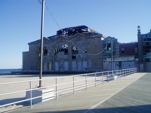 """The """"Casino"""" - this section now demolished"""