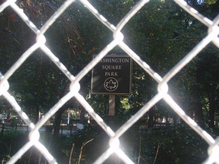 WSP Sign thru Fence 10 09