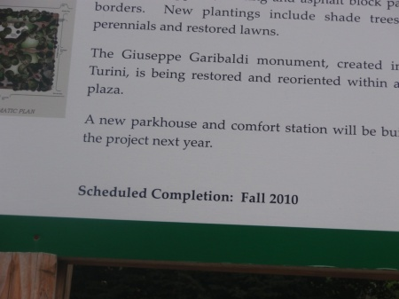scheduled completion